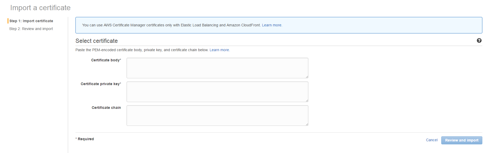 Automate Ssl Certificate With Aws Acm And Cloudfront About Stuff